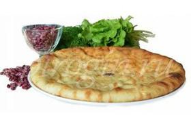 Осетинский постный пирог с фасолью - Фото