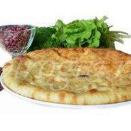 Осетинский постный пирог с фасолью Фото