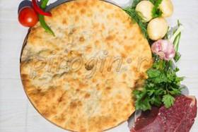 Осетинский пирог с говядиной и свининой - Фото