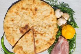 Осетинский пирог с грибами и курицей - Фото