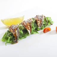 Чука салат с угрем Фото