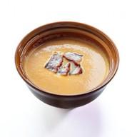 Крем-суп из тыквы с угрем Фото