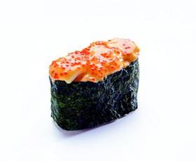 Суши запеченные с лососем - Фото