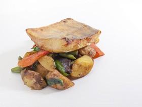 Судак в мисо-маринаде с овощами - Фото