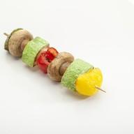 Шашлычки из овощей Фото