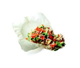 Салат из крабового мяса - Фото