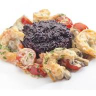 Креветки в остро-сливочном соусе Фото