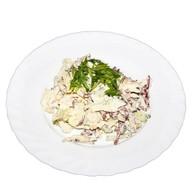 Салями салат Фото