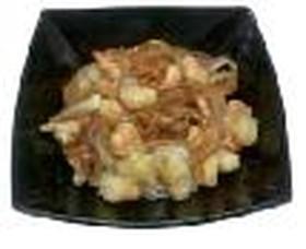 Жареные креветки на рисе - Фото