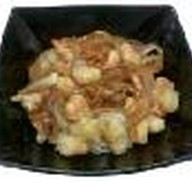 Жареные креветки на рисе Фото