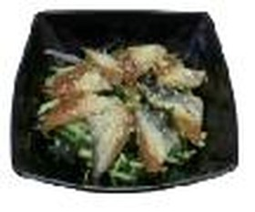 Салат с угрем - Фото