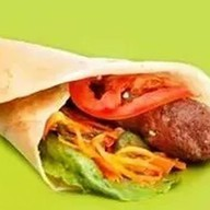 Люля-кебаб из курицы в лаваше с овощами Фото