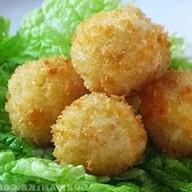 Рисовые шарики фри Фото
