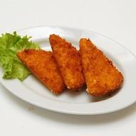 Сыр жареный Фото