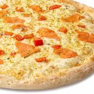 Пицца с красной рыбой Фото