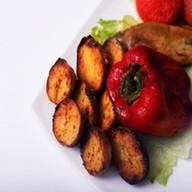 Порция картофеля Фото