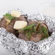 Картофель, печенный в золе Фото
