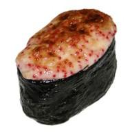 Запечённый гункан с лососем Фото
