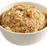 Жареный рис со свининой Фото