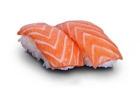 Суши свежий лосось - Фото