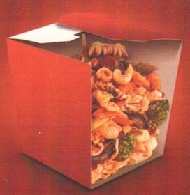 Рисовая лапша с морепродуктами - Фото