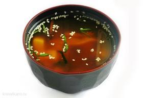 Мисо суп с мидиями - Фото