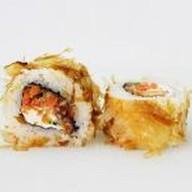 Бонито с жареным лососем Фото
