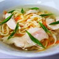 Суп лапша домашняя Фото