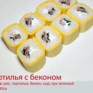 Тортилья с беконом Фото