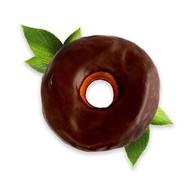 Пончик в глазури Donut Фото