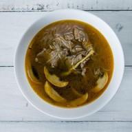 Суп c говядиной и фунчозой Фото