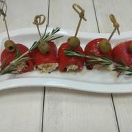 Рулетики из болгарского перца Фото