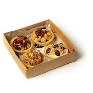 Набор ореховых корзинок Фото