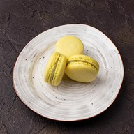Макаронс с лимоном Фото