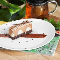 Шоколадный мусс брауни Фото