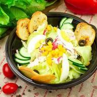 Салат с крабом Фото