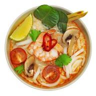 Том ям с морепродуктами Фото