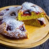 Клубничный пирог Фото