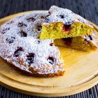 Пирог швейцарский вишневый Фото