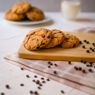 Овсяное печенье с изюмом Фото