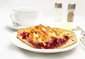 Пирог с клюквой - Фото
