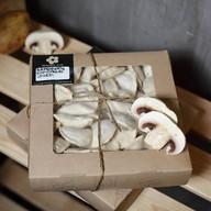 Вареники с грибами и картофелем Фото