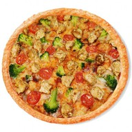 Курочка гриль пицца Фото