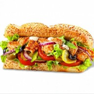 Сэндвич курочка терияки Фото