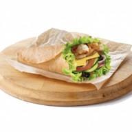 Креветки гриль сэндвич Фото