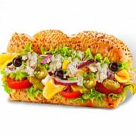 Сэндвич со снежным крабом Фото