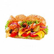 Сэндвич с курочкой кимчи (острый) Фото
