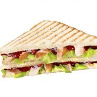 Сэндвич тостовый Курочка BBQ Фото