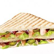 Сэндвич тостовый Мексиканский Фото