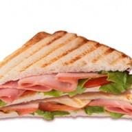 Сэндвич тостовый Ветчина Фото